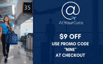$9 Off Promotion – 9 Airports